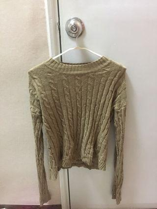Free Size Knitted Long Sleeve Top