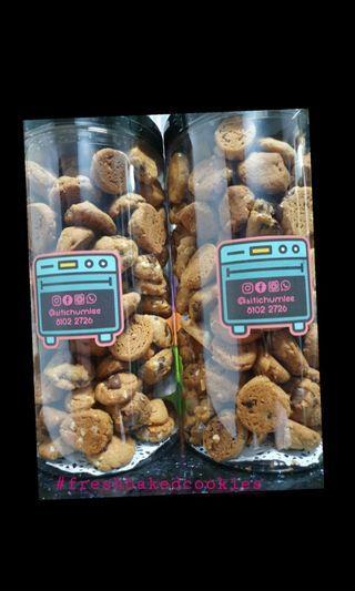 500g Almond Choc chip cookies
