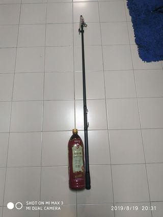 Surf force telescopic spinning rod