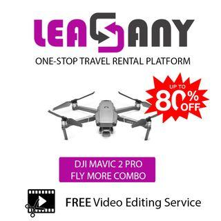 Rental: DJI Mavic 2 Pro FLY MORE COMBO