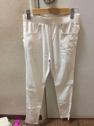 White Long Pant