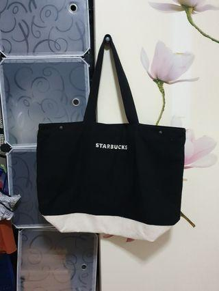 Starbucks canvas tote bag