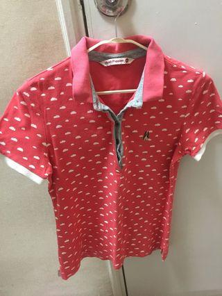 100% Authentic Hush Puppies Polo Shirt