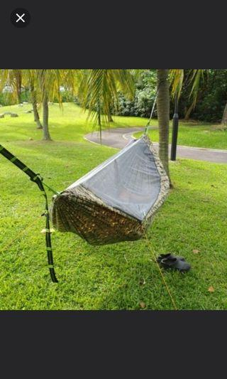 Digicamo Green hammock