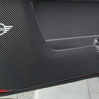 Mini Cooper R56 Car Panel Carbon Fiber Sticker