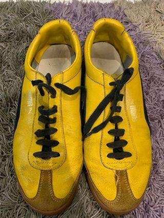 VINTAGE PUMA GOLD FIT MADE IN YUGOSLAVIA