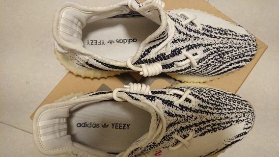 Yezzy 350 zebra