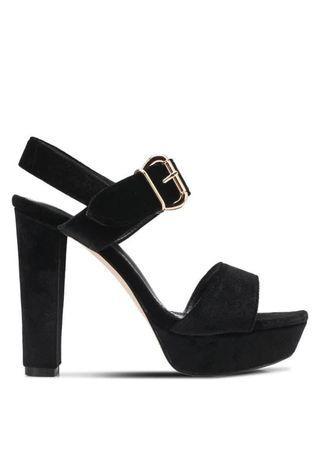 High heel Peeptoe Platform Chunky Heel