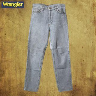 【不藏私】日本製 Wrangler 淺藍丹寧褲