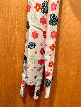 韓貨立體貓咪絲巾