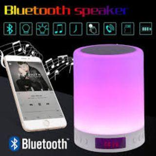 Touch Control Table Lamp with Bluetooth Speaker