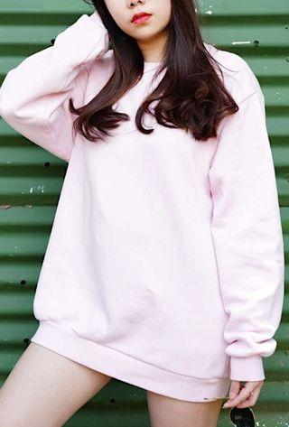 CandyPink Sweater Oversized