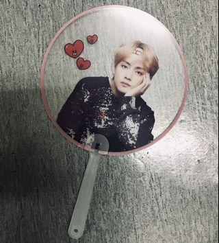 BTS Taehyung Transparent Fan