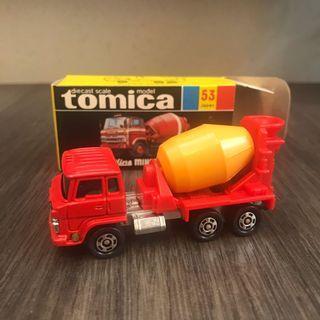 Tomytec Tomy Tomica 黑箱 黑盒 日製 53 Hino Mixer Car 油車 法拉利 Nissan GT-R fairlady