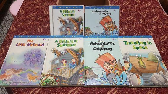 兒童美語繪本 高級 附光碟(小星星讀美語)小美人魚