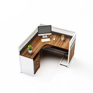 Modern layout design office furniture.