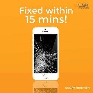 Home Repair. IPhone Crack Screen Replacement at doorstep