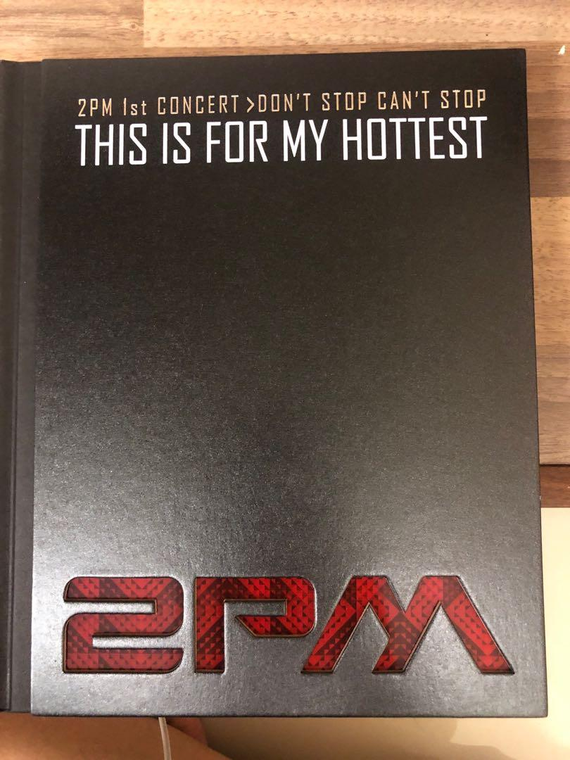 2PM - 1st Concert Making Story Photobook : This Is For My Hottest (Photobook+DVD)