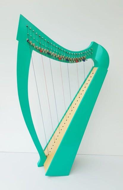 代放 全新 26弦豎琴lever harp