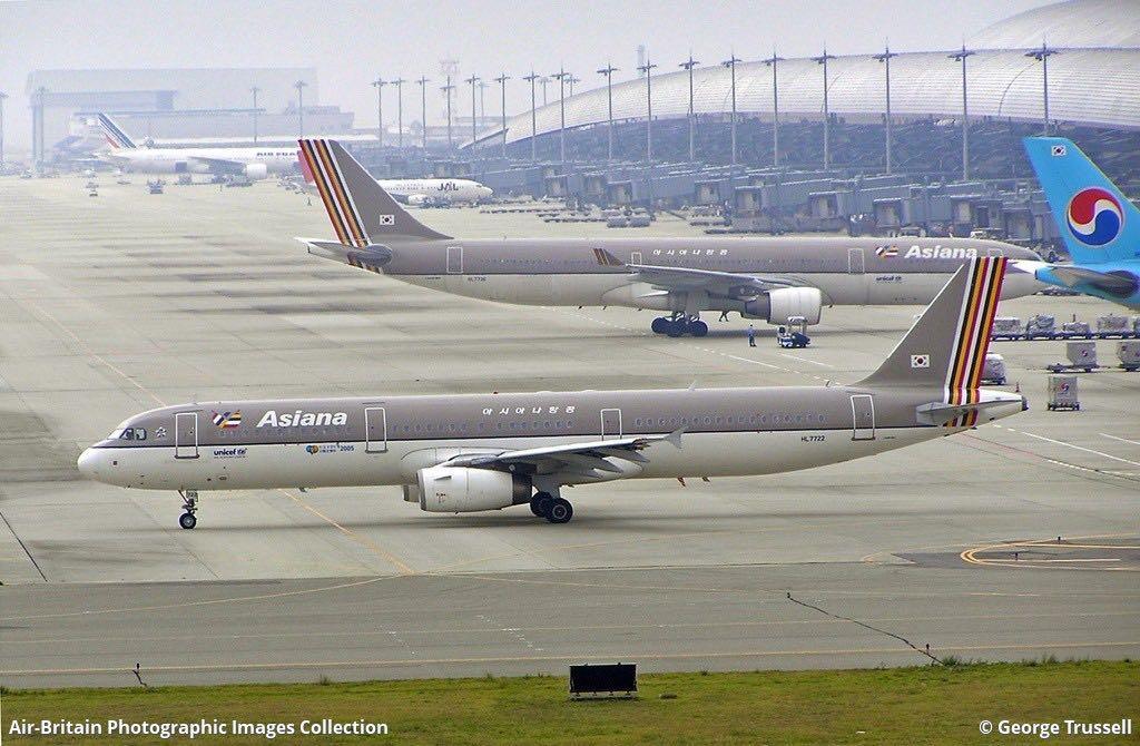 [ AeroClassics 1:400 ]   韓亞航空 Asiana Airlines A321-200 HL7722