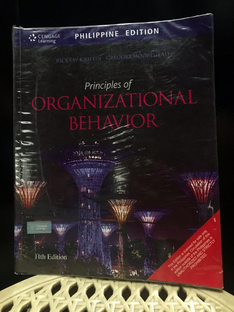 * Principles of Organizational Behavior, 11th edition by Ricky Griffin and Gregory Moorehead
