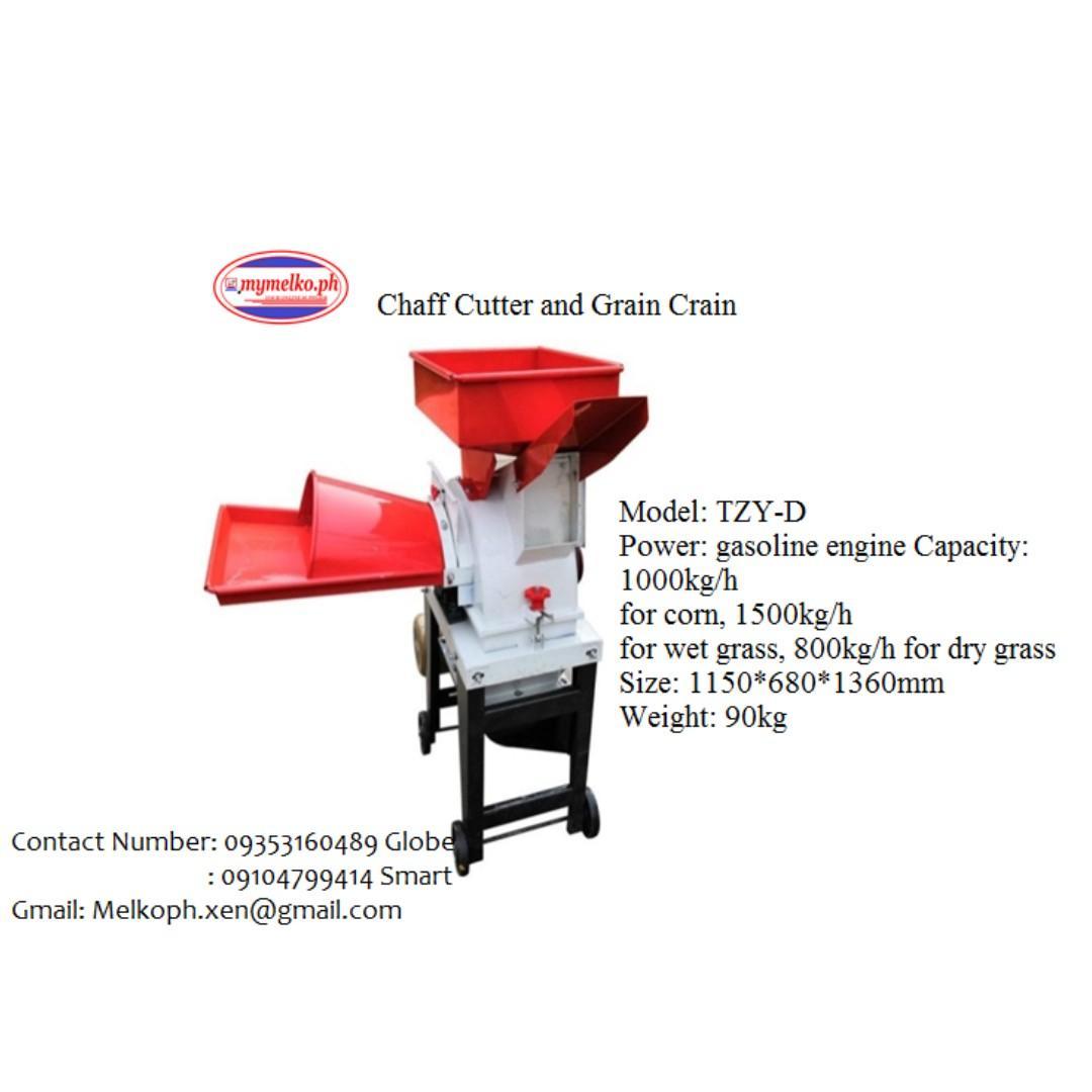 Appliances Chaff Cutter and Grain Crain