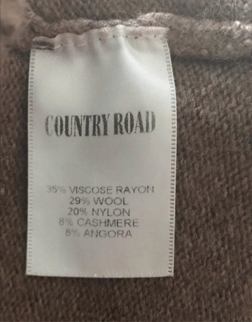 Best fit size 6-8: Country Road wool cashmere blend jumper