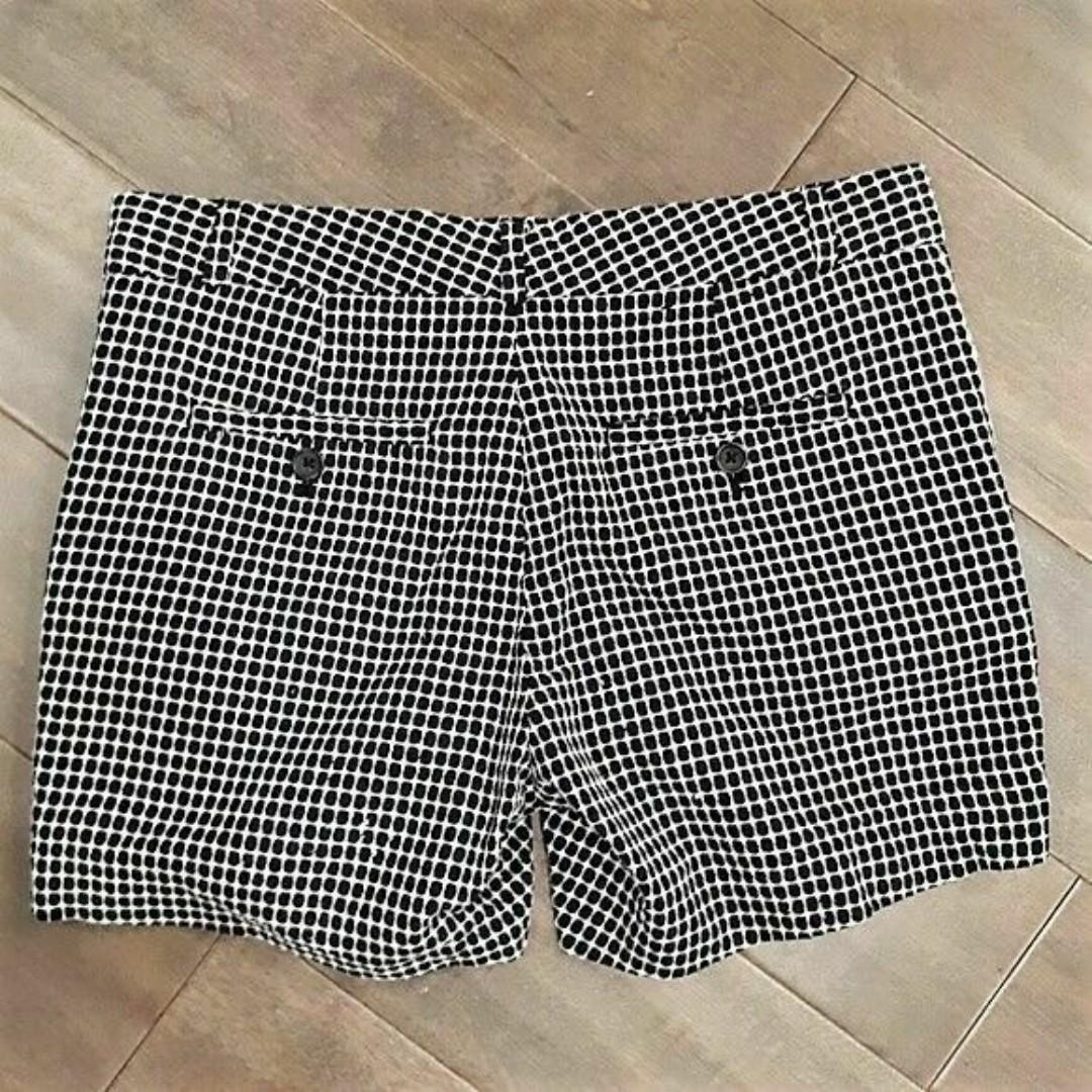 Brand New Banana Republic Black and White Polka Dot Shorts
