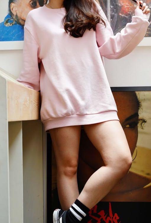 CandyPink Sweater Oversized
