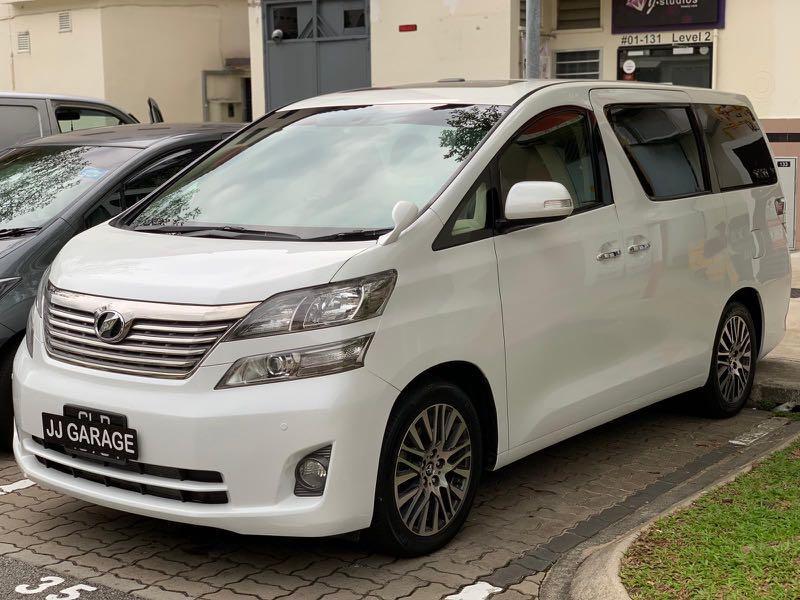 Car Rental #Vellfire #Grab Premium