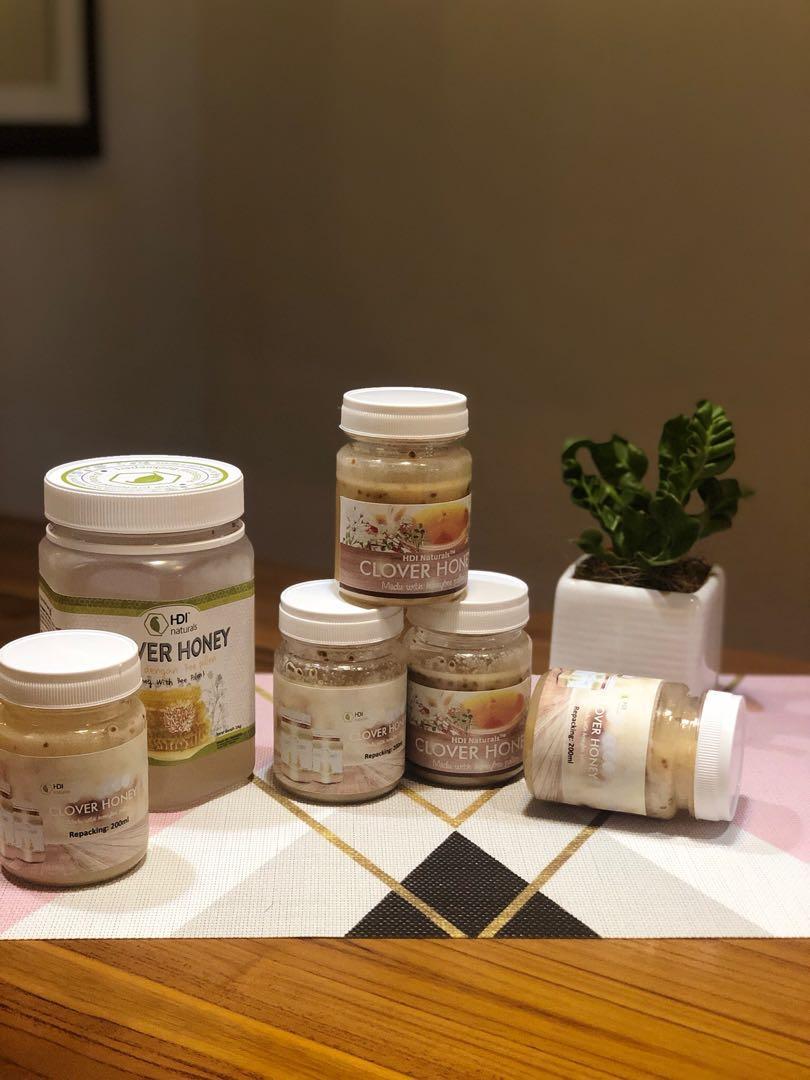 Clover honey HDI 200gr ( share in Jar )