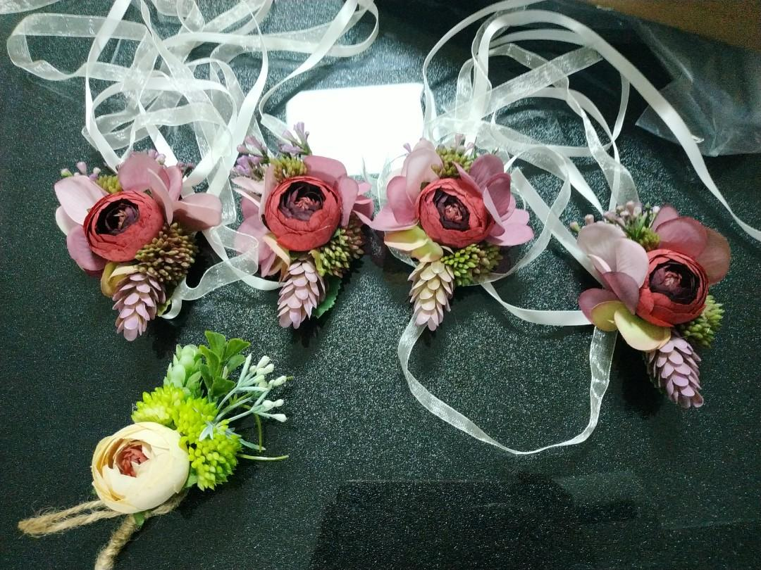 Corsage boutonnieres