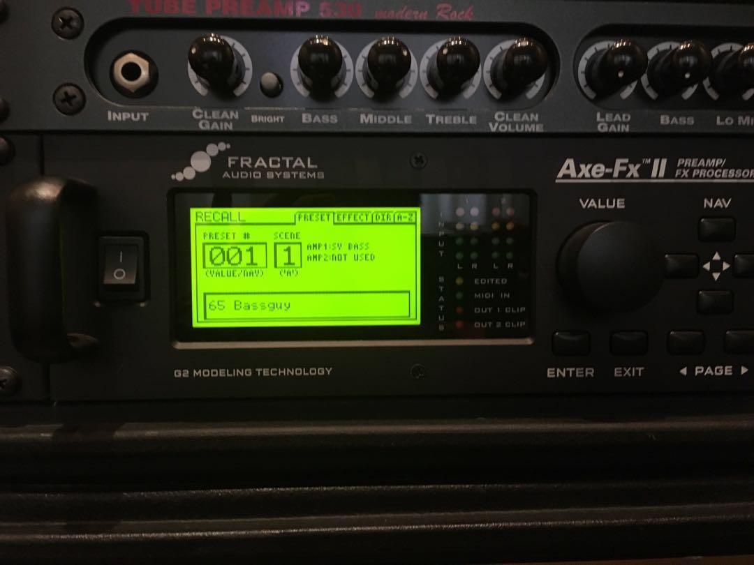Fractal Audio Axe Fx II Guitar effects unit, Music & Media