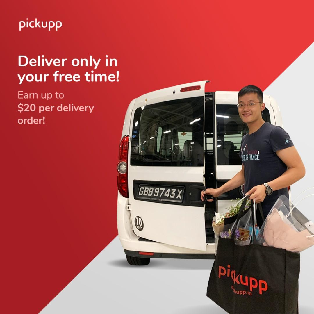 Freelance Delivery Job | Earn Up to $20 Per Hour