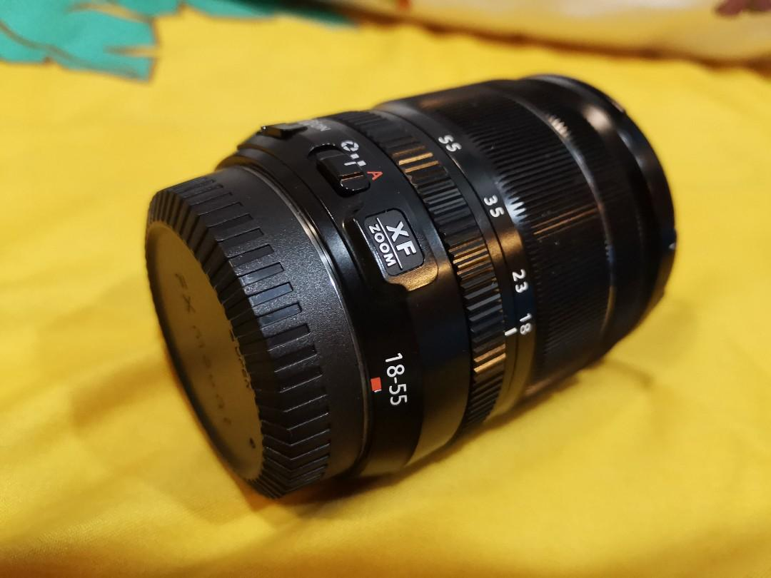 Fujifilm 18-55mm F2.8-4 OIS