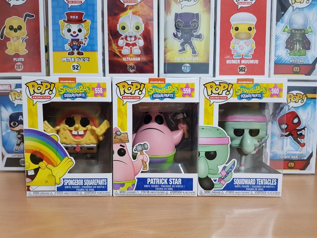 POP Animation Patrick Star With Board #559 Spongebob