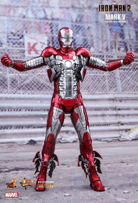 Hot Toys Iron Man Mark 5, Toys & Games, Bricks & Figurines