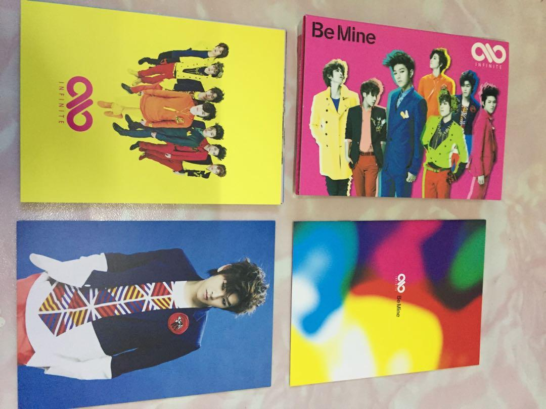 Infinite Be Mine (Pop Art Version) (Jacket B) (First Press Limited Edition) (Japan Version)