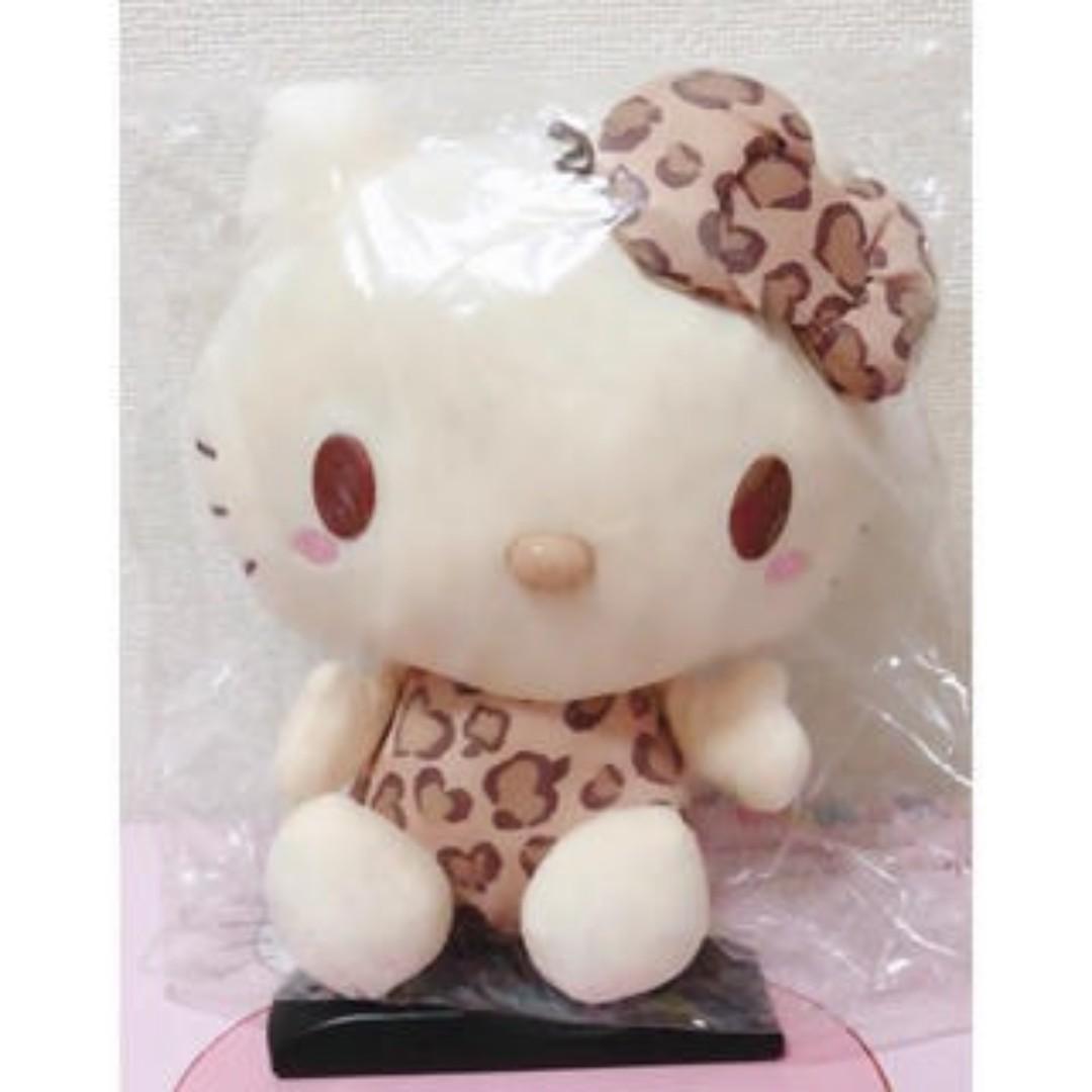 [INSTOCKS] TOREBA Hello Kitty - Apple Leopard Pattern Doll Big Type A