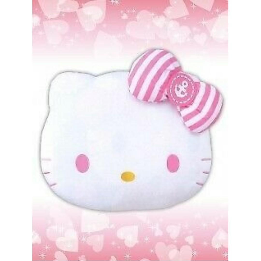 [INSTOCKS] TOREBA Hello Kitty - Mega Jumbo Cool Taste Face Cushion Plushie (Pink)