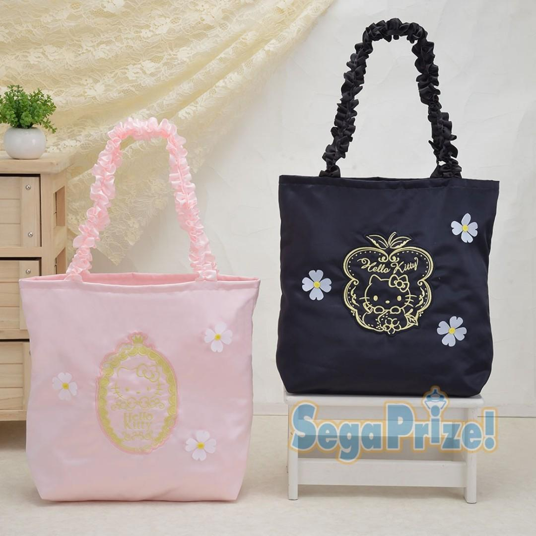 [INSTOCKS] TOREBA Hello Kitty - Premium Frill Handle Tote Bag