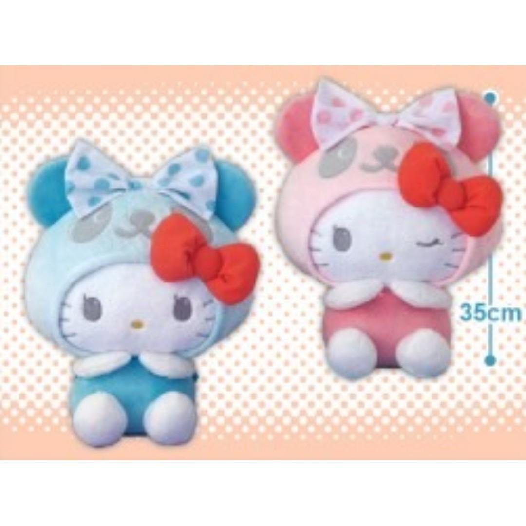 [INSTOCKS] TOREBA Panda Hello Kitty Dot Sailor BIG Plushie (Blue)