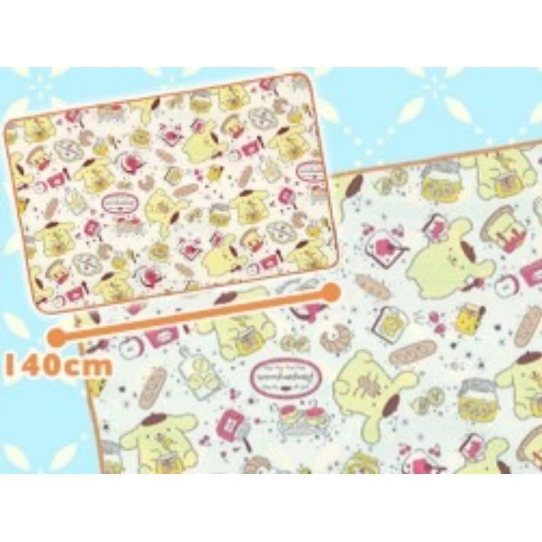 [INSTOCKS] TOREBA Pompompurin - Premium Cool Taste Blanket