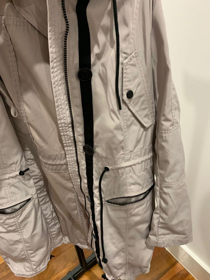Marc's spring jacket size large light weight durable warm raincoat
