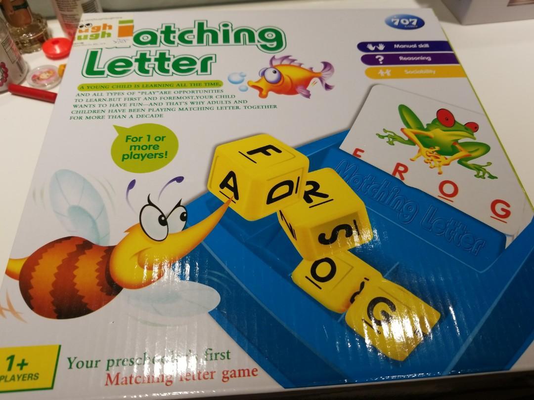 串字遊戲Matching letters / spelling game