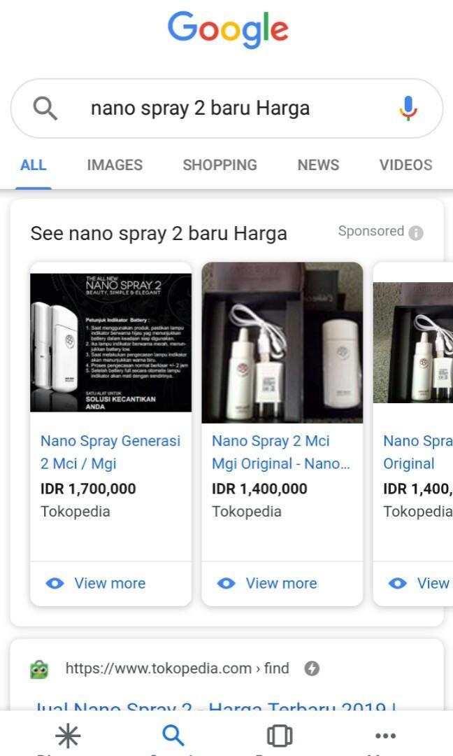 MCI Nano Spray