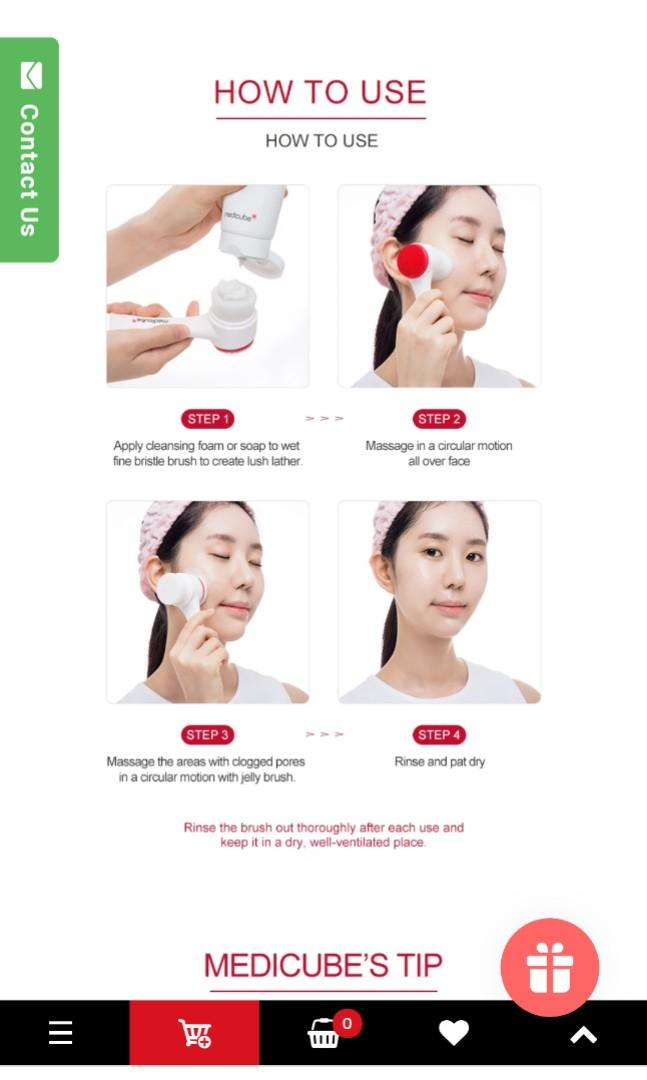 Medicube Pore Brush