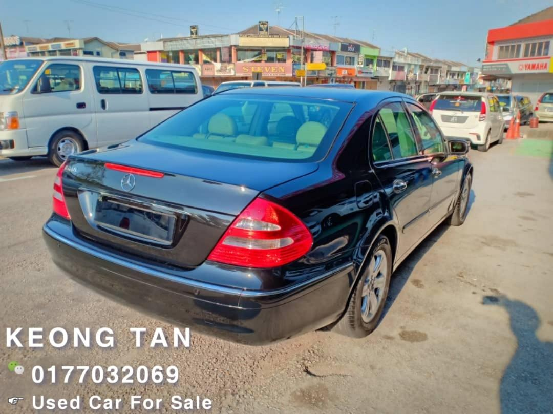 MERCEDES BENZ E240 2.6AT 2002TH Cash OfferPrice Rm21,800 Only‼💰Jual Cash Shj‼Lowest Price InJB 🎉📲 Keong‼🤗