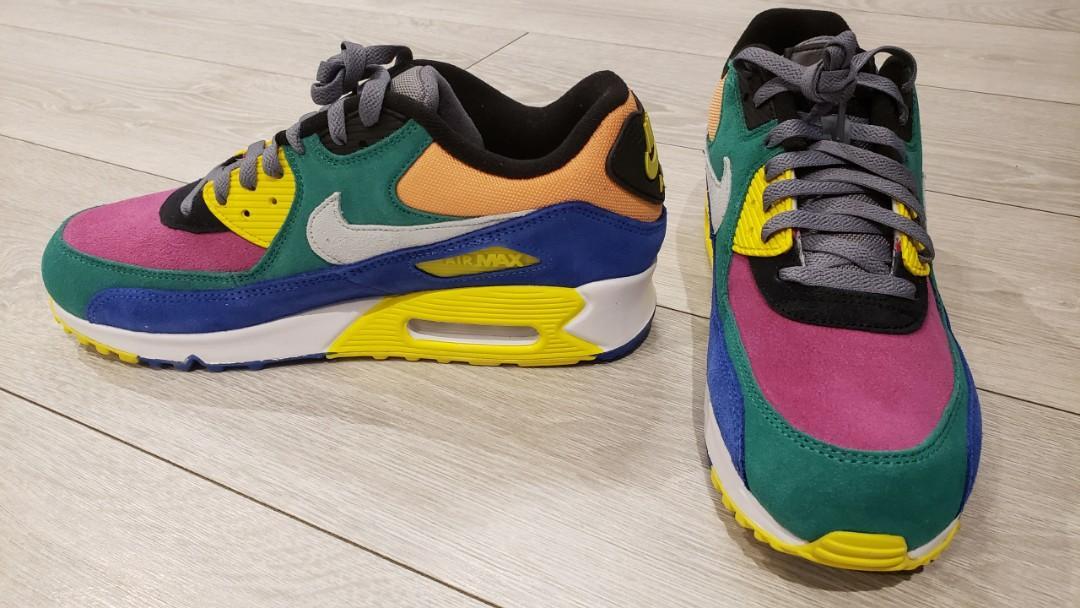 Nike | Air Max 90 QS Viotech 2.0 suede, canvas and mesh