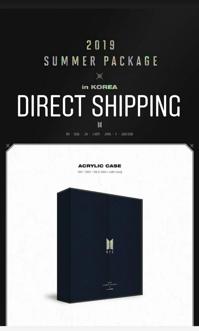 [NON PROFIT] BTS SUMMER PACKAGE 2019 IN KOREA OFFICIAL PRE-ORDER (FULL SET ONLY)
